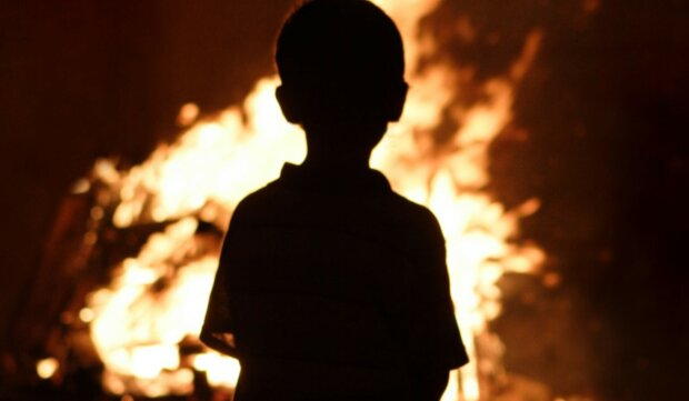 пожар-дети
