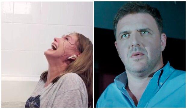 """""""Больная на голову"""": появилось видео рожающей в ванной Асмус, экс-супруг Собчак не сдержался"""
