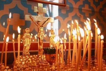 поминальные дни, радоница, свечи, церковь