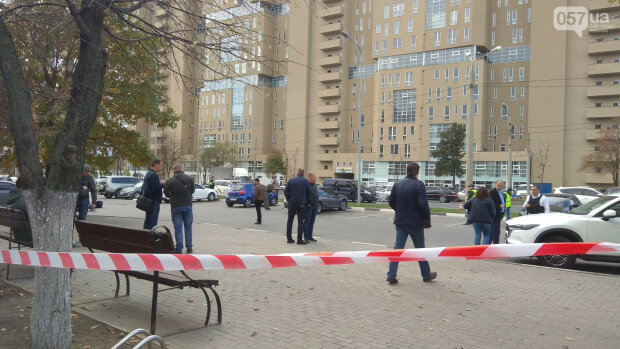 Харьков, супермаркет, киллер, стрельба