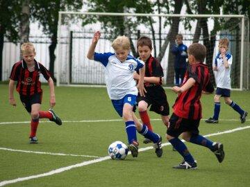 детский футбол, дети, мяч, футбол