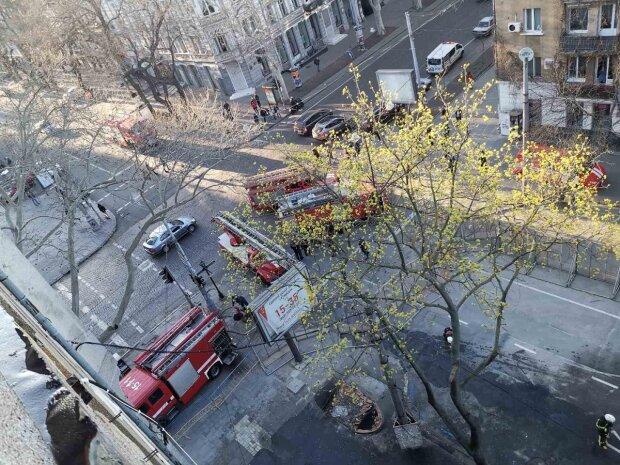 Новое ЧП в колледже на Троицкой в Одессе, спасатели срочно примчались: фото и подробности