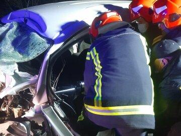 На трассе Киев-Чоп столкнулись автомобили, тела вырезали ножницами: детали трагического ДТП