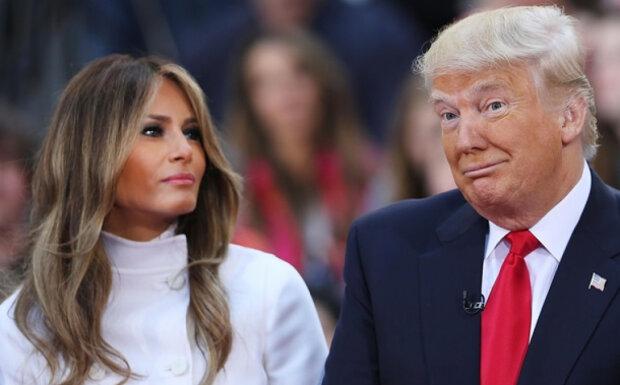 Трамп, Мелания, Дональд