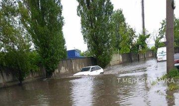 Вулиці Харкова пішли під воду після потужної зливи: кадри наслідків