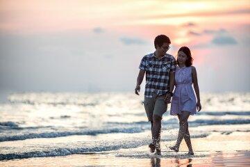 романтика море