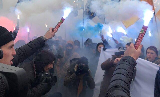 бунт протест митинг