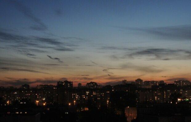 многоэтажки, район, город
