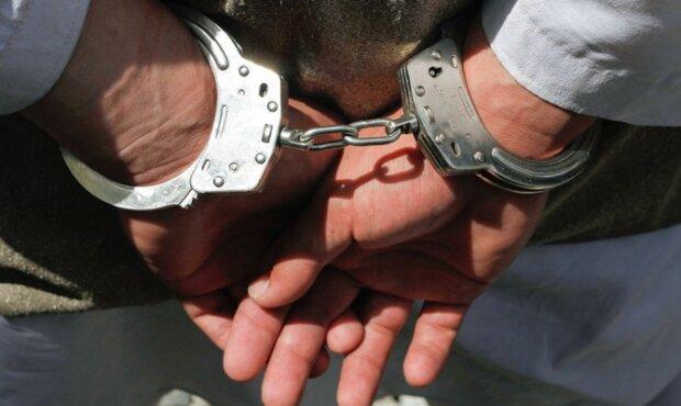 арест, наручники,