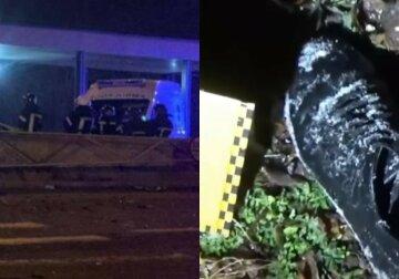 """""""Думав, що врізався в стовп"""": п'яний водій залишив помирати збитого пішохода, кадри трагедії на Житомирщині"""
