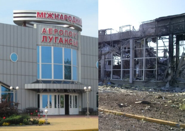 """Аеропорт Луганська через 6 років окупації: таким він став після вторгнення """"вагнерівців"""" і бойовиків """"ЛНР"""""""