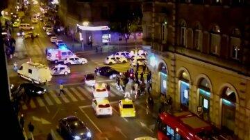 Будапешт, взрыв