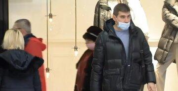 люди маска карантин