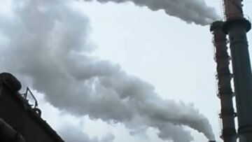 викиди, завод, промисловість, вуглекислий газ, скрін