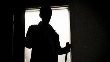силуэт тень убийцы мужчины
