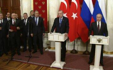 Владимир Путин, Рэджеп Эрдоган