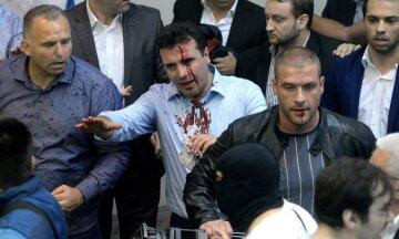Зоран Заев, протесты в Македонии