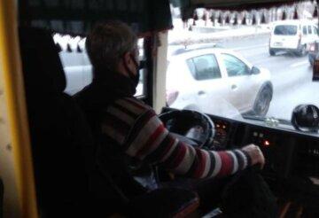 """""""Навіщо було їх стільки народжувати?"""": київський маршрутник відмовився везти дідуся з двома дітьми, фото """"героя"""""""