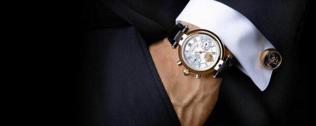 часы, рука, костюм