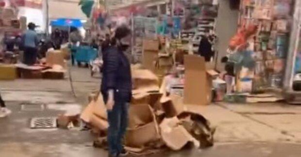В сети показали, чем обернулся потоп для рынка Барабашово: красноречивые кадры