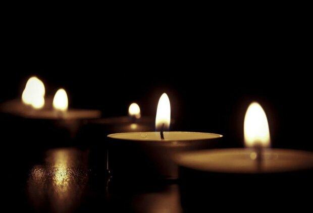 траур, свечи