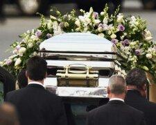 гроб, похороны,