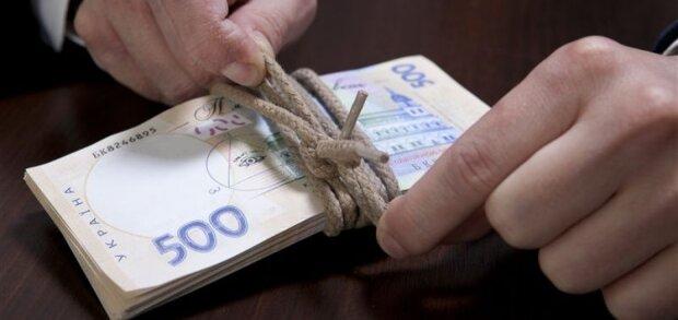 гривна деньги зарплата взятка