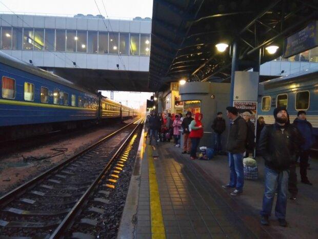 вокзал киев поезда