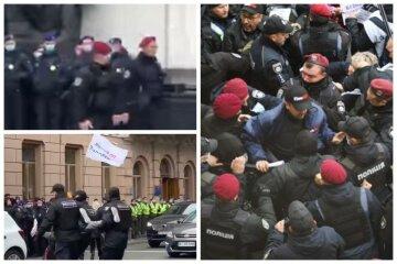 Украинцы сцепились с полицией под стенами Рады: первые детали и кадры с места