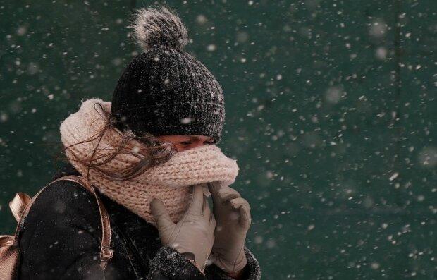 зима, снег, погода