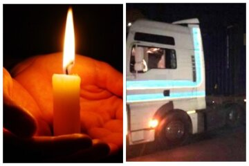"""""""Выскочил из темноты"""": в Одессе фура раздавила голову пешеходу, кадры трагедии"""