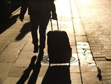 чемодан, вокзал, заробитчане