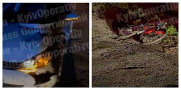 """""""У неї не було шансів"""": під Києвом на великій швидкості збили велосипедистку, фото"""