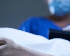 рука, покойник, больница труп