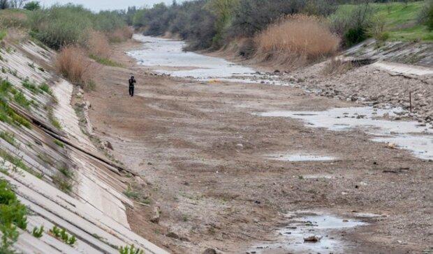 """""""Зате на Місяці воду знайшли"""": жалюгідний стан Північно-Кримського каналу на півострові показали в мережі"""
