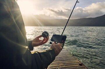 рыбак удочка