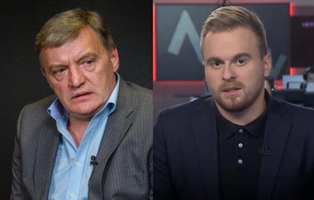 """""""Идите в дупу, до свидания"""": Назаров и Грымчак сцепились в прямом эфире, кадры"""