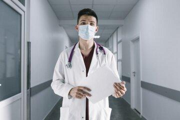 врач, эпидемия, маски