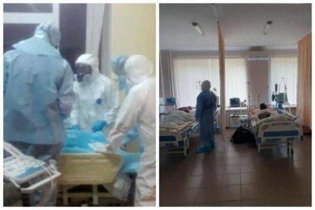 коронавирус, маски, медики