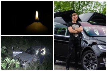 Украинский гонщик разбился в ДТП, от удара его выбросило из авто: кадры трагедии