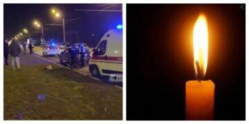 """У Харкові водій змів поліцейського зі шляху, фото: """"протягнув 50 метрів..."""""""