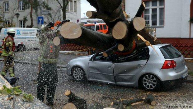 ураган, Германия