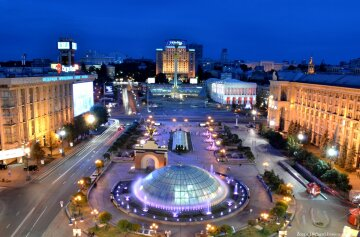 фонтан, майдан киев