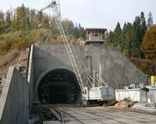 бескидский тоннель