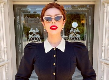 """Плакидюк из """"Супер топ-модель по-украински"""" обескуражила видом в платье с глубоким вырезом: кадры"""