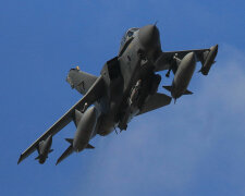 British Fighter Jets At RAF Akrotiri in Cyprus