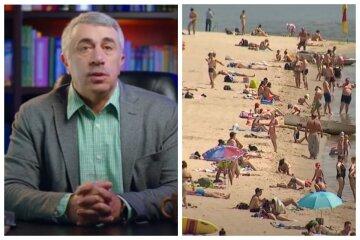 """Доктор Комаровский предупредил о самом опасном времени пребывания на солнце: """"Держитесь в тени с 10.00 до..."""""""