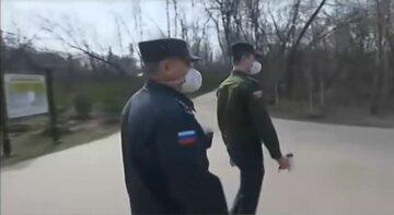 карантин, россия, полиция в масках