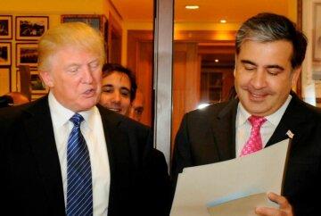 Дональд Трамп, Михаил Саакашвили