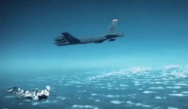"""""""Четкий сигнал Путину"""": американские бомбардировщики вошли в небо над Украиной, в РФ паника"""